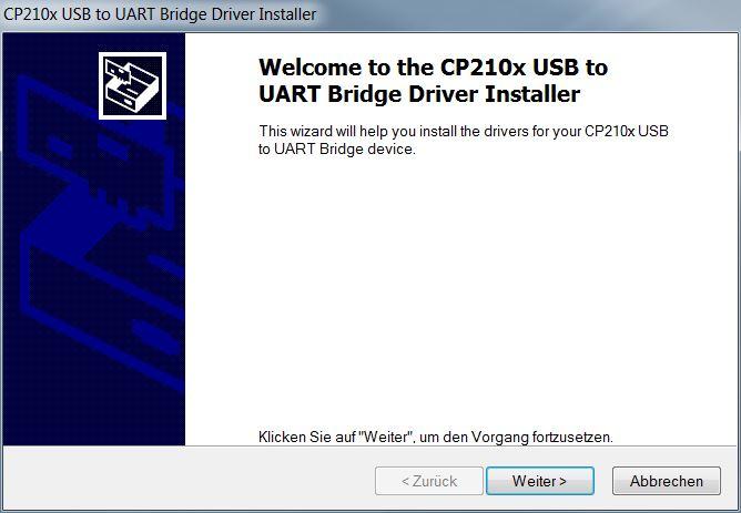 | AL-KO Robolinho® Autoupdater - Krok 3: Instalacja sterowników przewodu USB
