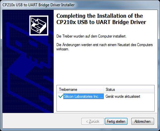 | AL-KO Robolinho® Autoupdater - Krok 6: Zakończ instalację