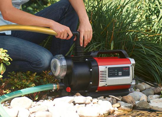 AL-KO Gartenpumpen Vorteile   Schnelle Installation