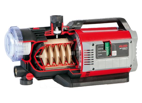 Hauswasserwerk | AL-KO 5-stufige Fördertechnik