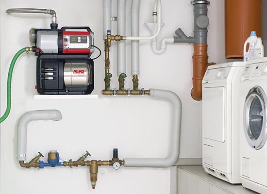 Hauswasserwerk | AL-KO Leises Hauswasserwerk