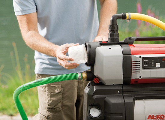 Hauswasserwerk | AL-KO Hauswasserwerk mit integriertem XXL-Filter