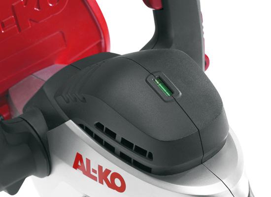 AL-KO Heckenschere Vorteile | Integrierte Wasserwaage