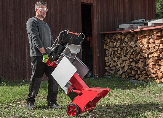 Holzspalter | AL-KO Mobiler Spalter mit Rädern
