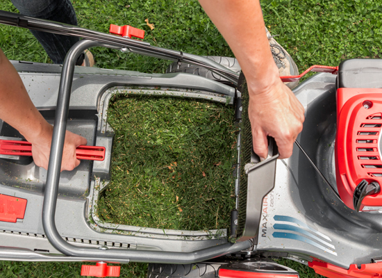 Rasenmäher | AL-KO MaxAirflow Technology volle Box weniger Pausen
