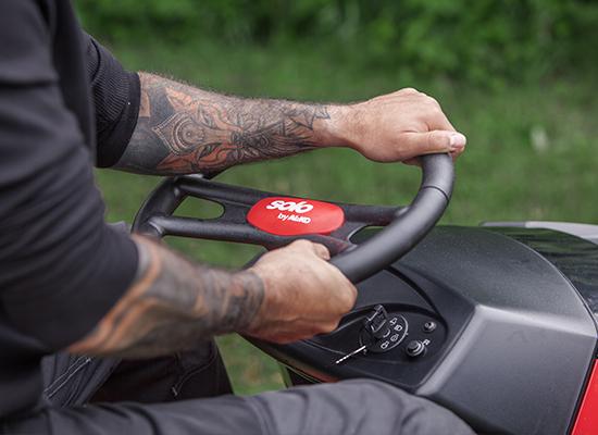 Rasentraktoren | AL-KO Leichte Bedienbarkeit am Cockpit
