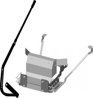 Rama z uchwytem do traktorka ogrodowego 92 cm , 102 cm, 110 cm