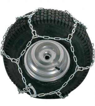 Łańcuchy na koła traktora ogrodowego - 20'' (para)