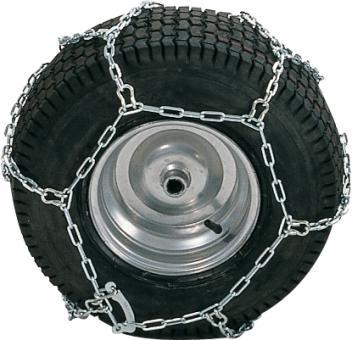 Łańcuchy na koła traktora ogrodowego - 18'' (para)
